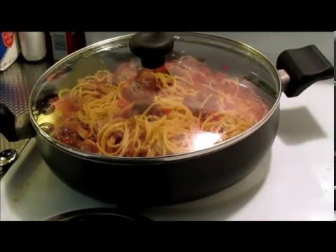 Easy One Pot Spaghetti