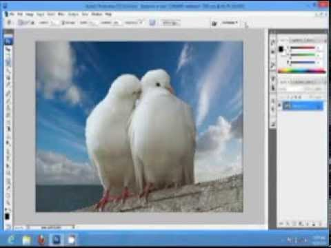 Photoshop tutorial of Creation Of Wallpaper Using Photoshop