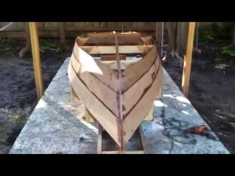 Building Lone Star Ten Rowboat Part Four