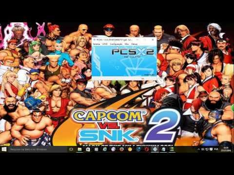 CONFIGURANDO Capcom vs. SNK 2  EMULADOR PS2 1.5 !! 60 FPS 100000000%