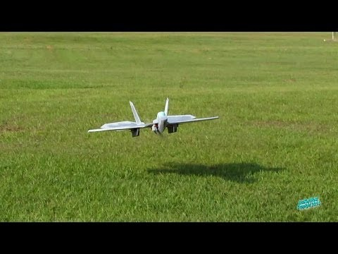 RC F-22 Foam Scratch Built Fast Jet