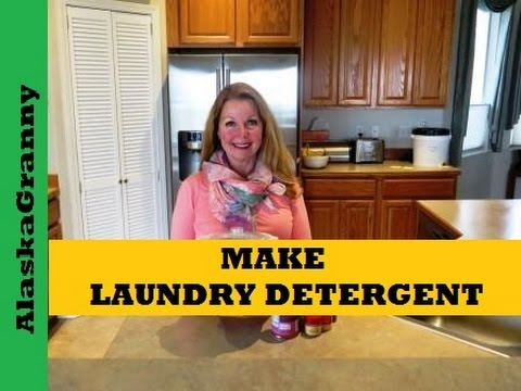 How To Make Laundry Detergent