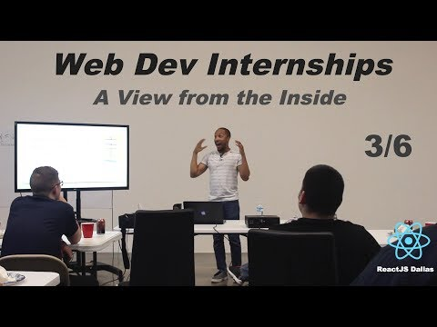 How I Landed an Internship with Call Em All (creator of Material-UI) - ReactJS Dallas Tech Talk 3/6