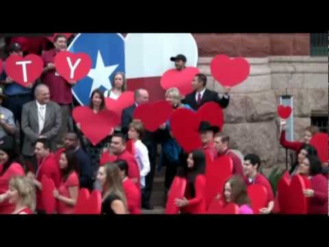 Flash Mob! Bexar County Boot Scoots for its Courthouse!