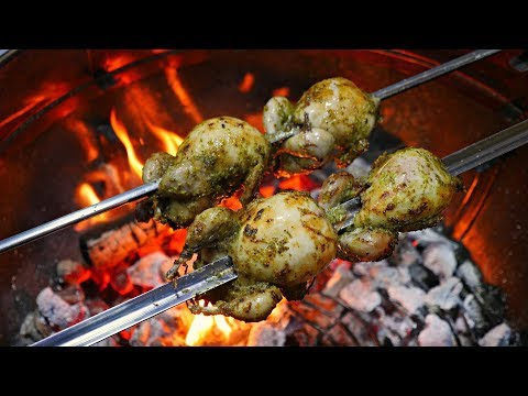 Fire Roasted Quail !!  Must try!