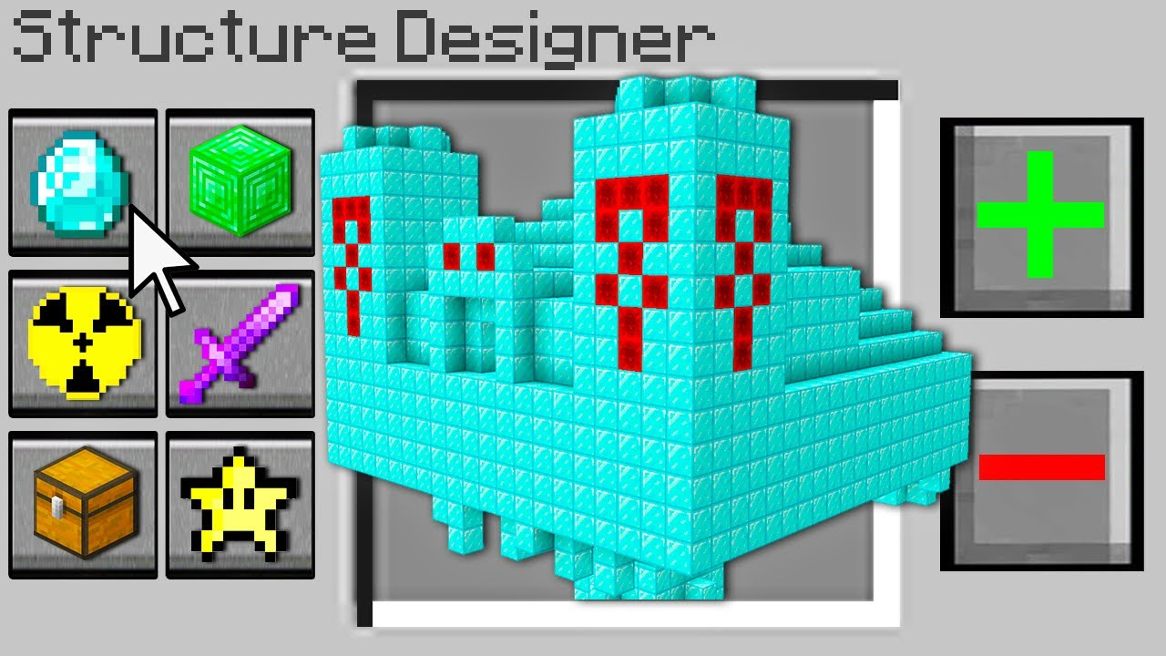 Minecraft, But You Can Design Structures...