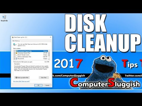 How to Speed Up Your PC | Windows 10 Disk Clean Up Free & Easy