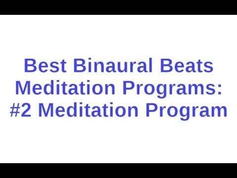 Best Binaural Beats Meditation Programs: #2 Meditation Program