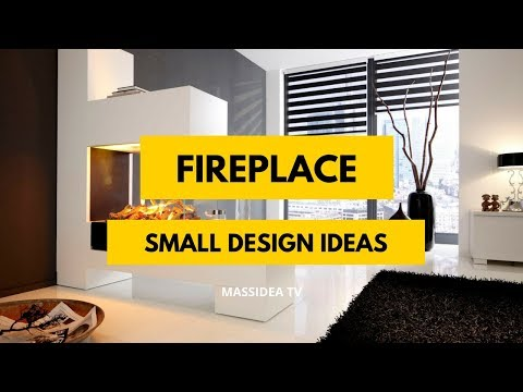 100+ Stunning Small Space Fireplace Design Ideas