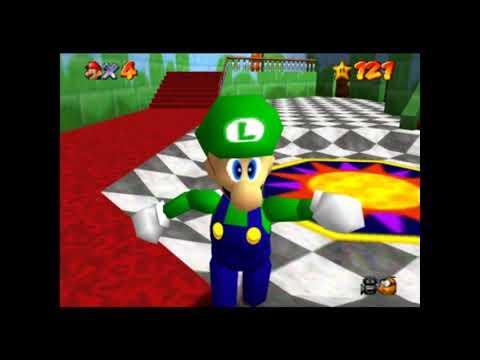 Como desbloquear a Luigi en Super Mario 64