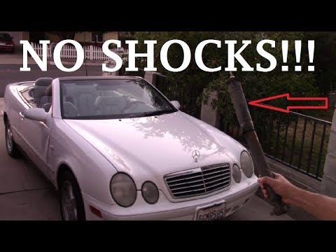 What happens if you DRIVE your Car with NO SHOCKS??!!!
