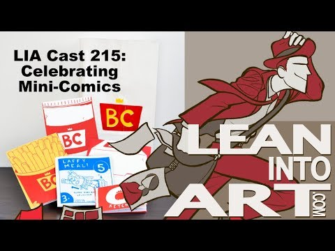 LIA Cast 215 - Celebrating Mini-Comics