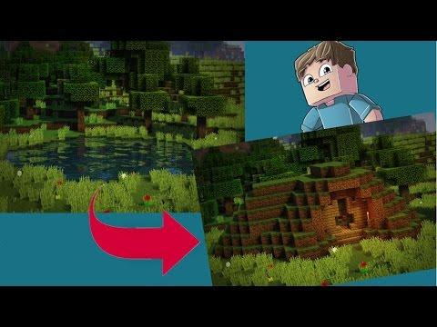 Self-Building Hobbit Hole in Survival Minecraft!