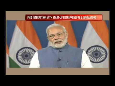 PM Shri Narendra Modi's interaction with youngsters from the world of start-ups & innovation