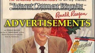 """Internet Comment Etiquette: """"Advertisements"""""""