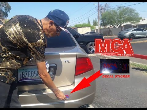MCA - What to do with your MCA Decal Sticker? - 2017