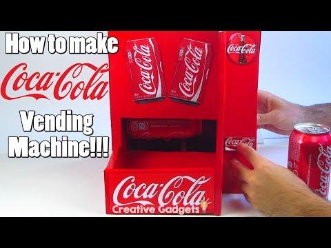 How to Make Coca-cola Vending Machine