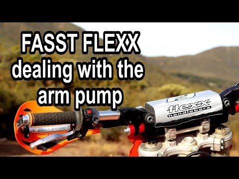 FASST FLEXX handlebars and hand guards installation on a dirt bike - KTM 250SX