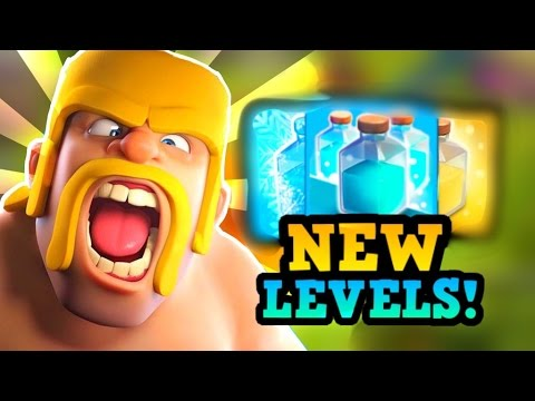 Clash Of Clans Update :: NEW Spell Levels & Balance Changes Coming