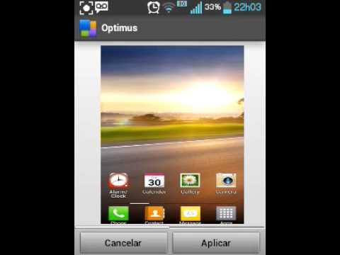 temas para celular lg kp570
