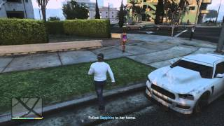 GTA V:  Sleeping with Sapphire