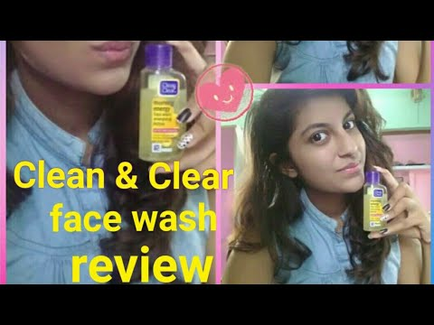 Clean & clear morning energy lemon face wash review