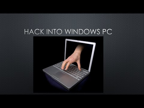 How to hack a PC and get DATA from others PC .