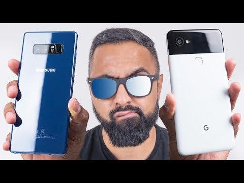 Google Pixel 2 XL vs Samsung Galaxy Note 8