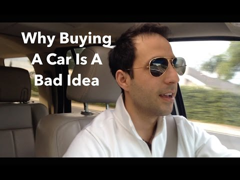 Why Buying A Car Is A Bad Idea