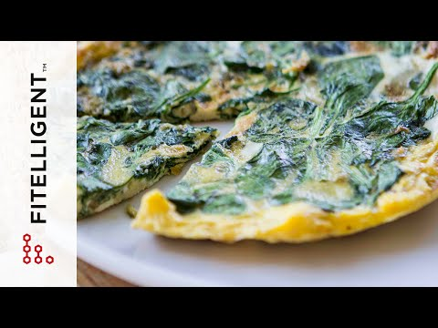 [Fitelligent] Spinach Frittata - Perfect for Leftovers