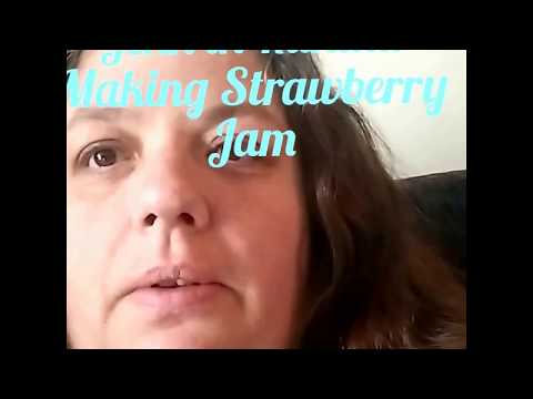 Jenn in Kanata making strawberry jam with Certo Pectin Crystals