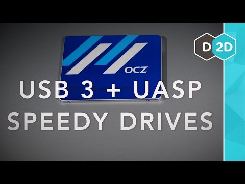 USB Drives with UASP - Speed up your video editing workflow