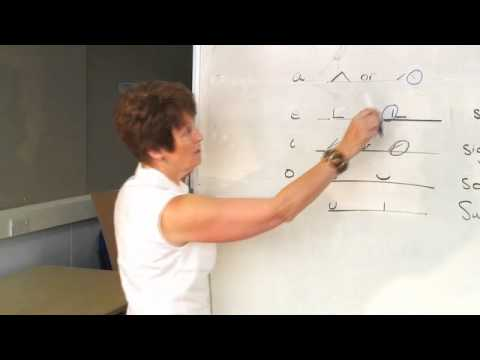 Shorthand Sue Teaches Teeline #5 - vowels