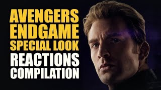 Download AVENGERS ENDGAME SPECIAL LOOK Reactions Compilation Video