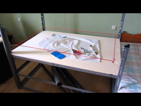 How to make a wrestling ring for WWE figures Tutorial HD
