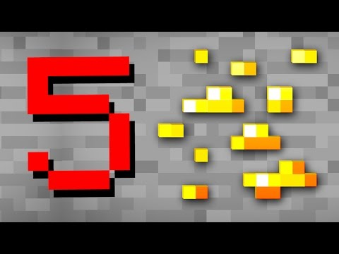 ✔ Minecraft: 5 Things You Didn't Know About Gold