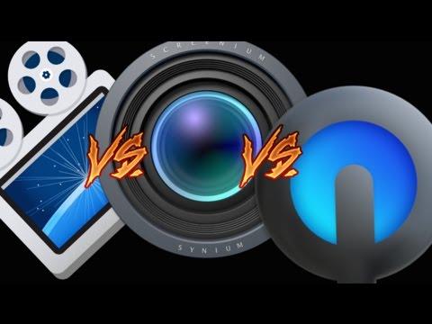 Screenflow vs Screenium vs Quicktime (iPhone recording)  -  comparative video
