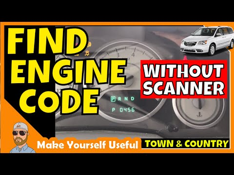 How to Check Town & Country Engine Codes Without a Code Scanner