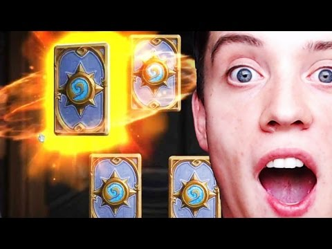 Hearthstone: LEGENDARY BOOSTER CARD PACKS?!