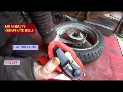 breaking a tyre bead.... easy.