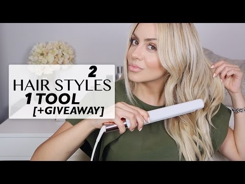 2 Chic Hair Styles with 1 Tool + Amazing T3 Giveaway