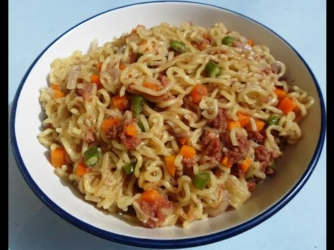 Delicious Indomie Recipe 2... My Favorite Noodle
