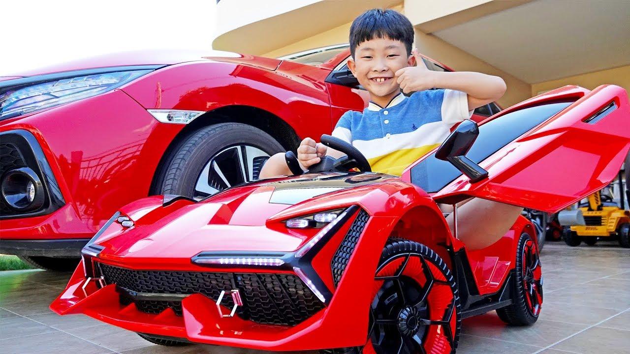 예준이의 자동차 장난감 조립놀이 전동차 만들기 Car Toy Assembly Power Wheels