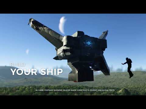 Dual Universe New Supporter Packs Trailer