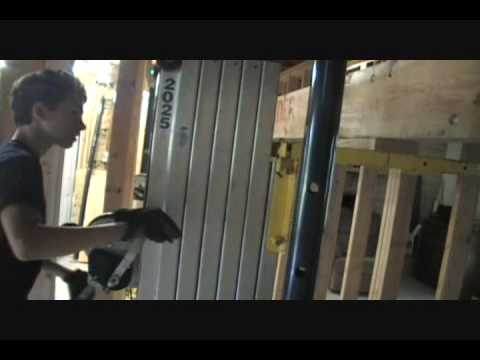 How to replace a bearing wall with a seventeen foot engineered header! Part 2