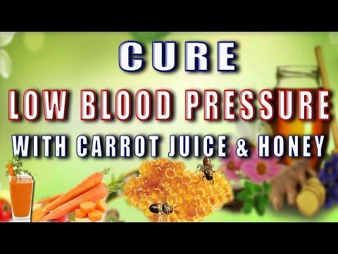 CURE LOW BLOOD PRESSURE WITH CARROT JUICE AND HONEY II शहद और गाजर के रस से  निम्न रक्त चाप का इलाज