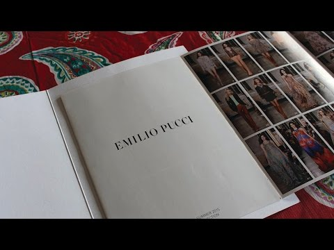 DIY Fashion Designer Lookbook | Brochure Magazine Idea