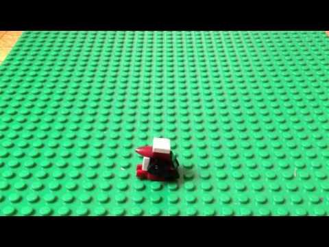 How to build a LEGO mini-penguin
