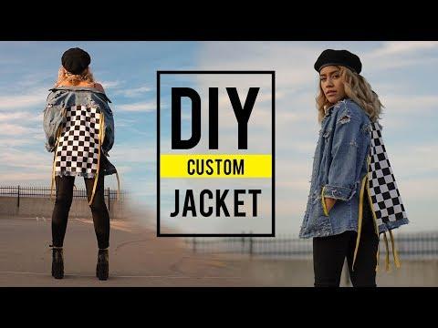 DIY DENIM JACKET (customizing) | sew&tell