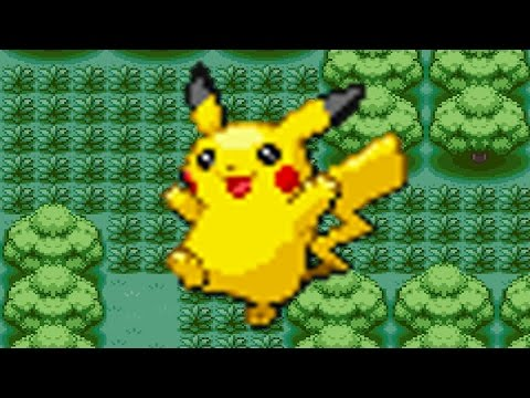 How to find Pikachu in Pokemon Fire Red & Leaf Green